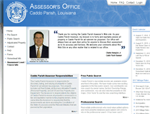 Tablet Preview of caddoassessor.org